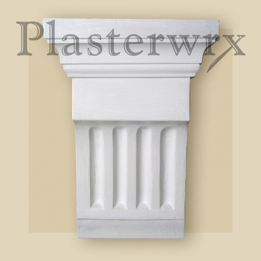 Large Classic Plaster Corbel 10CL