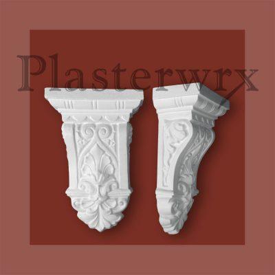 Medium Classic Victorian Plaster Corbel CL11