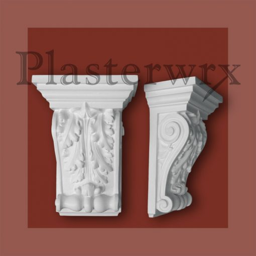 Large Ornate Scroll Plaster Corbels CL2