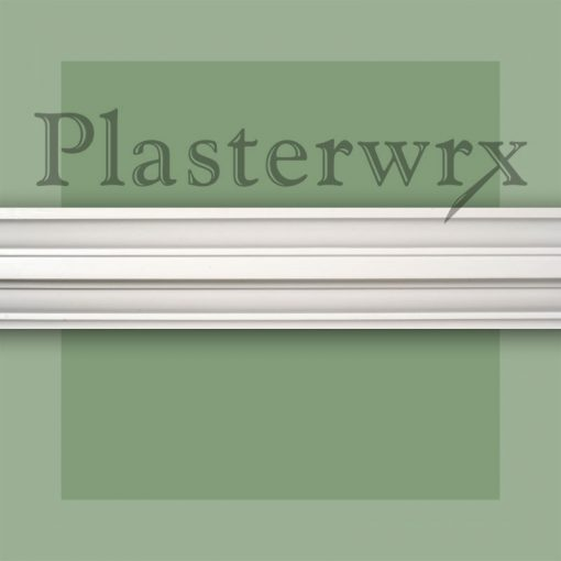 Plain Regency Plaster Cornice 46CO