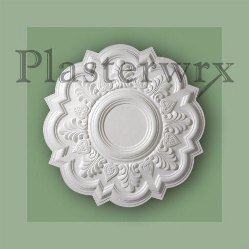 Heartleaf Plaster Regency Ceiling Rose 9CC