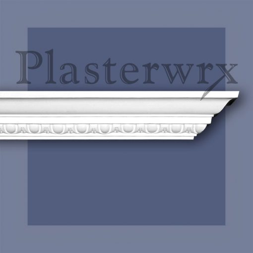 Small Egg and Dart Plaster Cornice 9CO