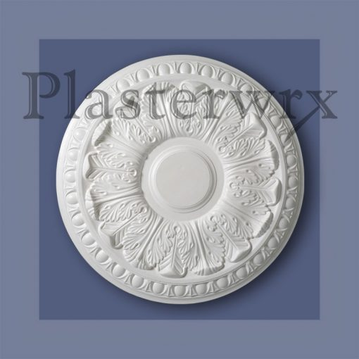 Egg and Dart Plaster Ceiling Rose CC12