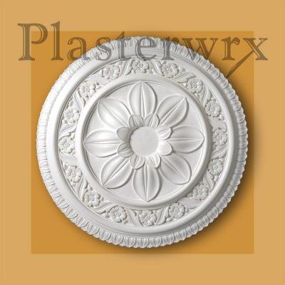 Ornate Georgian Plaster Ceiling Rose CC22