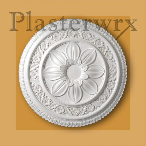 Ornate Georgian Plaster Ceiling Rose CC22