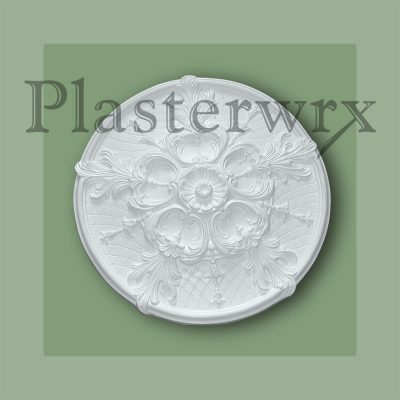 Lattice Plaster Ceiling Rose CC41