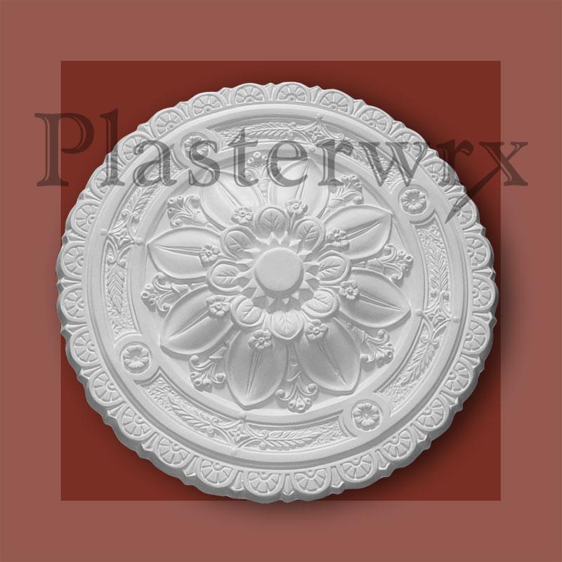 Ornate Victorian Medium Plaster Ceiling Rose CC44