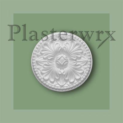 Gothic Bead Plaster Ceiling Rose CC67