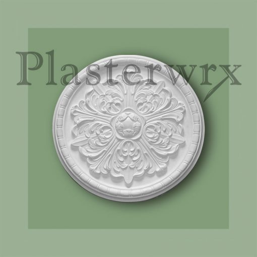 Bead and Reel Plaster Ceiling Rose CC75