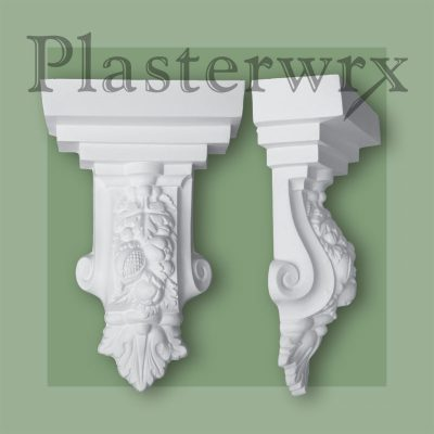 Large Fruit Plaster Corbels CL16