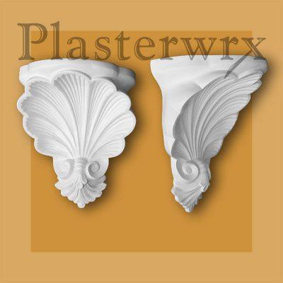 Rococo Georgian Plaster Corbels CL19