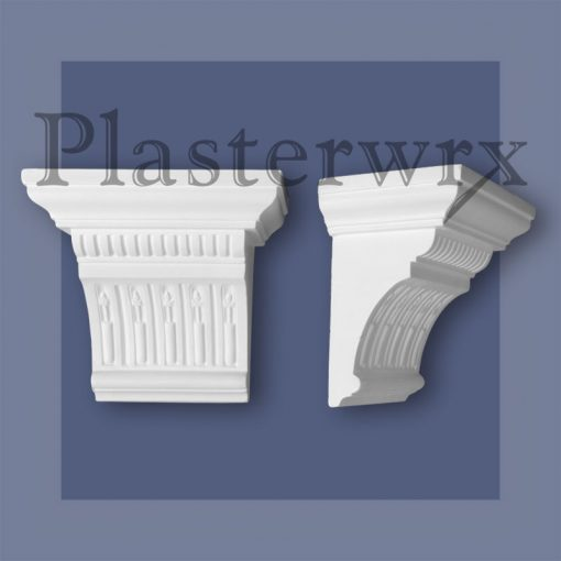 Fute and Dart Plaster Corbels CL21