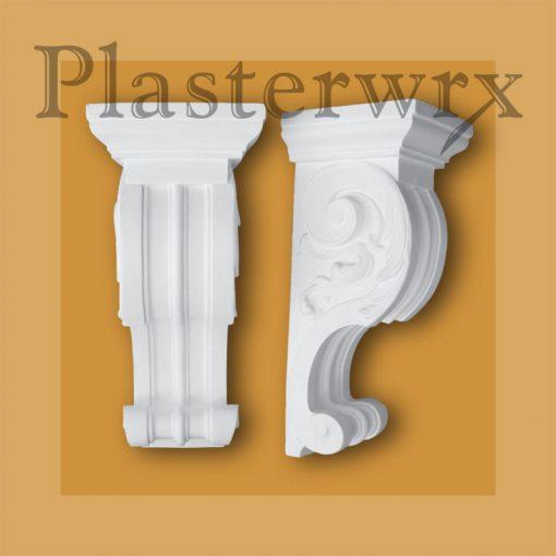 Medium Windsor Georgian Plaster Corbels CL23