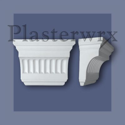 Grande Futed Plaster Corbel CL5