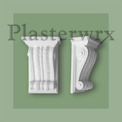 Lambs Tongue Regency Plaster Corbels CL9