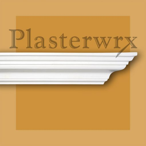 Small Georgian Plaster Cornice CO42
