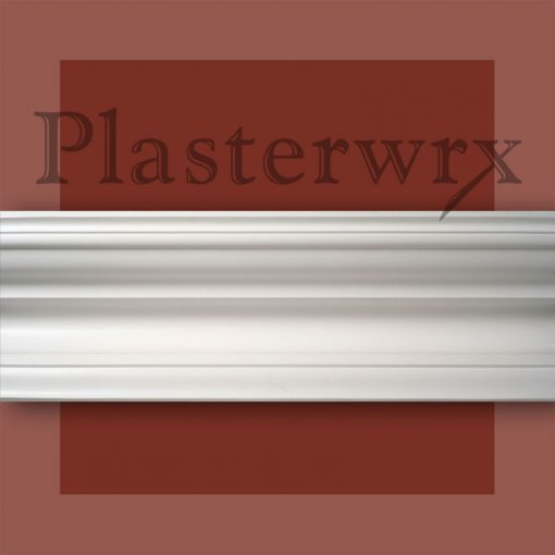 Grand Plain Victorian Plaster Cornice CO56