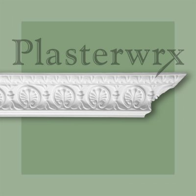 Regency Honeysuckle Plaster Cornice CO66