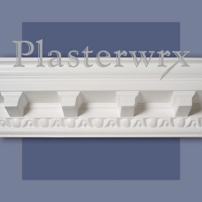 Grand Modillion Mayfair Plaster Cornice 45CO