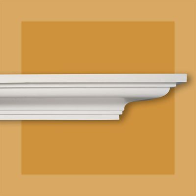 Large plain georgian plaster cornice CO33