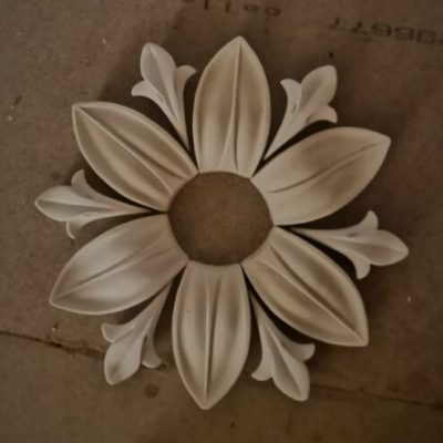 Small Cambridge Multi Section Plaster Ceiling Rose