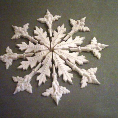 Winchester multi section plaster ceiling rose